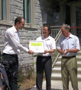 Premier immeuble certifié LEED Habitation à Gatineau